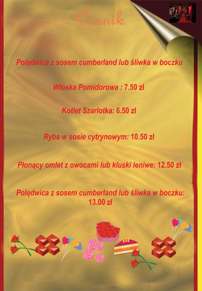 menu strona 1